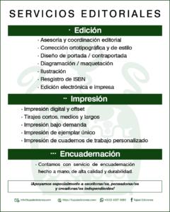 Servicios Editoriales de Tujaal Ediciones